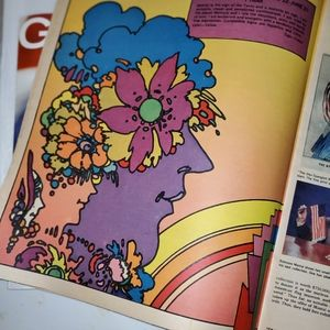 1971 New York Magazine Peter Max Addition